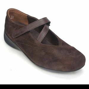 """Wolky Sz 9 (39) Brown Suede """"Passion"""" Shoes"""